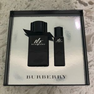 Burberry cologne. Boxed set. New.